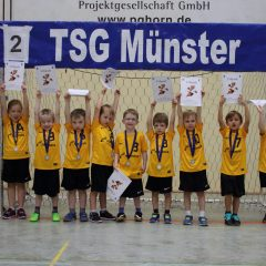 G-Minis auf Spielfest in Münster