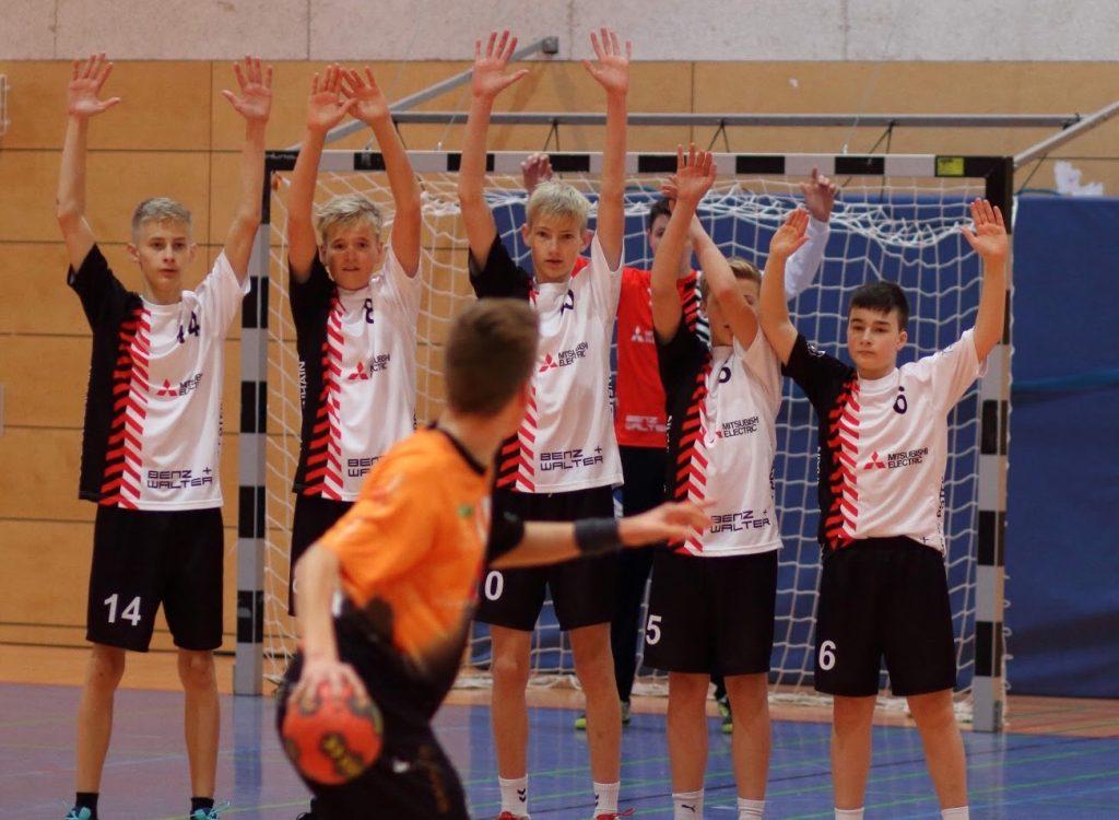 männliche C1-Jugend: Arbeitssieg in Hochheim