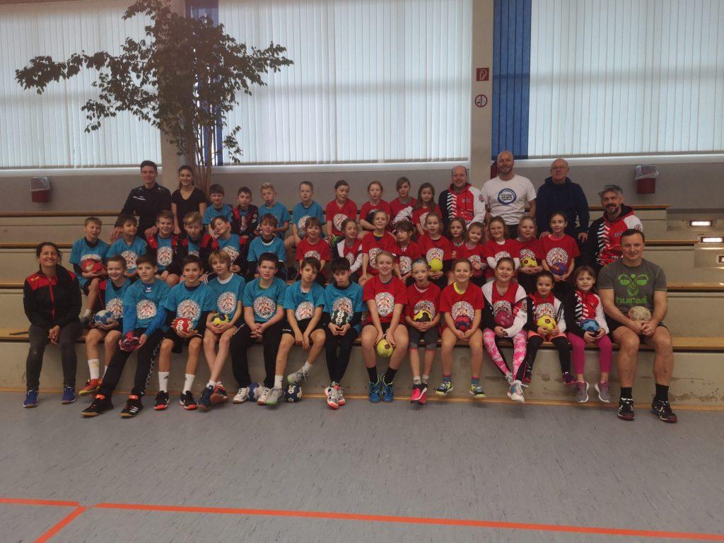 40 Kids beim zweiten Jugend-Handball-Camp in Langenhain